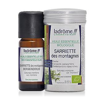 Organic Mountain Savory essential oil 10 ml of essential oil