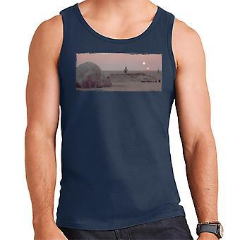 Star Wars Landscape Men 's Vest Star Wars Landscape Men 's Vest