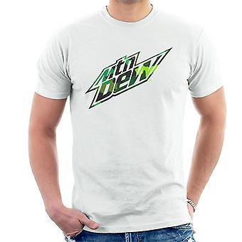 Mountain Dew kamouflage design män ' s T-shirt