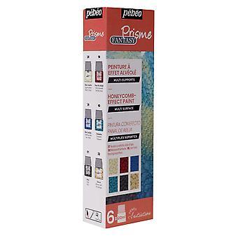 Pebeo Fantasy Prisme Multi-Surface Reaction Paint Initiatie set 6 x 20ml