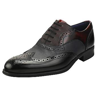 Ted Baker Muktti Mens Brogue Shoes in Black