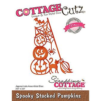CottageCutz Spooky Stacked Pumpkins (Elites) (CCE-536)