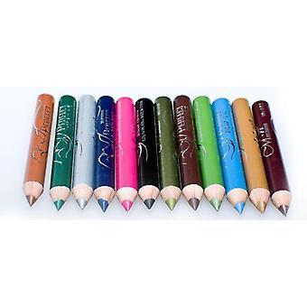 12 stk. Perfekte øje/lip liner penne