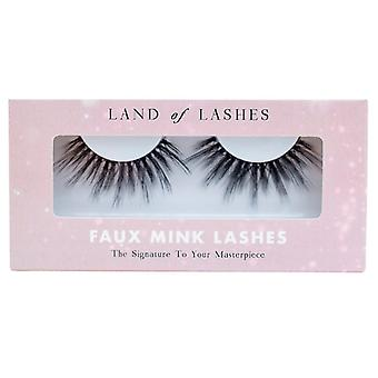 Land of Lashes Faux Mink Lashes - Honey - The Signature to Your Masterpiece