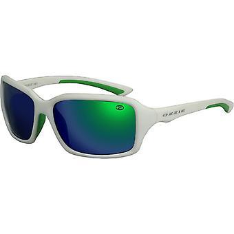 Sunglasses Unisex Sport white / green
