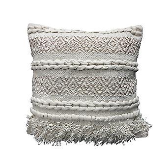 Spura Accueil Confortable Tutu Gray Moroccan Style Pillows 18x18