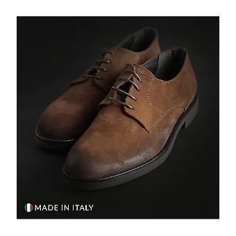 Off-box - Schuhe - Schnürschuhe - 058_CAMOSCIO_COGNAC - Herren - peru - EU 42