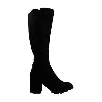 Bar III Gypsee Boots Black 8M Microfiber