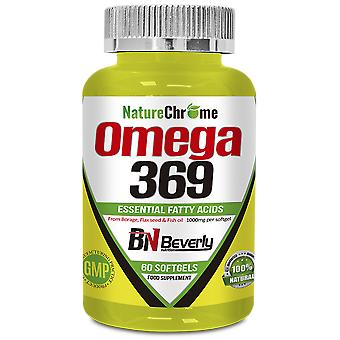 Beverly Nutrition Omega 369 60 Pearls 1000 mg