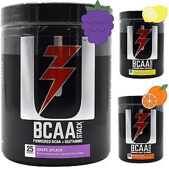 Universal Nutrition BCAA Stack - 250 grammaa - Jauhettu BCAA + glutamiini