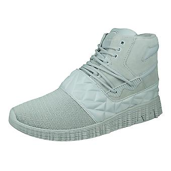 Supra Jagati Mens Casual Trainers / Hi Tops - Grey