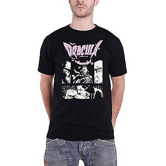 Dracula T Shirt Cartoon Logo nieuwe Officiële Mens Black