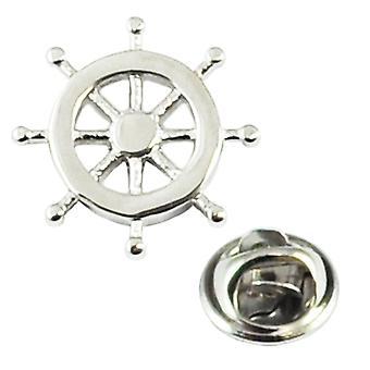 Ties Planet Ship Wheel Lapel Pin -merkki