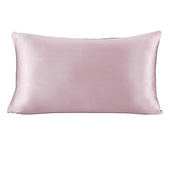 Luxury Pillowcase With Hidden Zipper - Momme Terse Color For Women Men Kids Girls