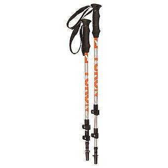 Kwik Tek 83-0102 YC Advanced 7000 Series Trekking Pole - Orange/Silver