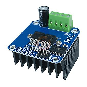 Kaksinkertainen Bts7960b 43a Moottoriohjain Suuritehoinen moduuli Arduinolle