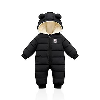 Warm Thick Hooded Outfits - Jumpsuit / Snowsuit Coat For Newborn Infant Baby