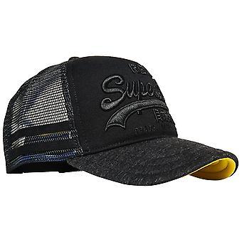 Superdry Premium Good Cap - Washed Black