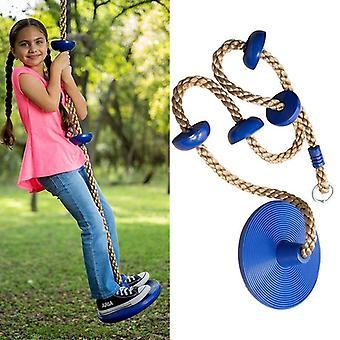 Kinder Outdoor Kletterseil mit Plattformen und Jungle Gym Fitness Swing Set