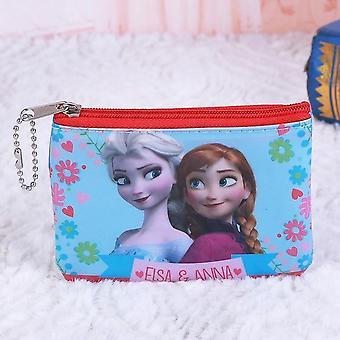 إلسا / آنا وسبيرمان الكرتون طباعة الاطفال الحقيبة مع سستر