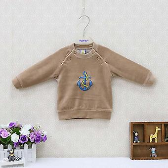 Baby Velour Double Breasted Blouse And Clothes - Kids Long Sleeve Clothing