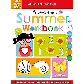 Maak je klaar voor Pre-K Zomer Werkboek: Scholastische vroege leerlingen (Wipe-Clean Workbook) (Scholastic Early Learners)
