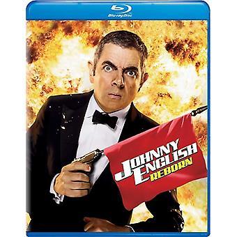 Johnny English Reborn [Blu-ray] USA import