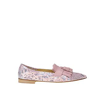 Viola Ricci Ezgl436002 Women's Pink Leather Loafers