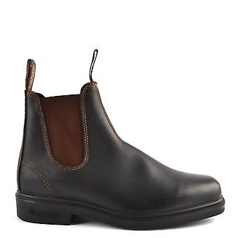 Blundstone 062 Dress Boots Stout Brown Premium Leather