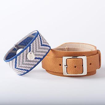 Bracelet de relief en cuir de style Style Nausea