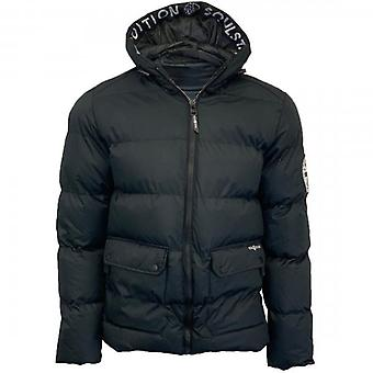 Soul Star Beaufort Puffer Jacket Black