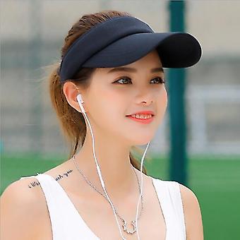 Men Women's Sun Hat, Headband Classic Cap Adjustable Sun Sports Visor Hat