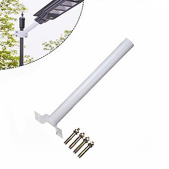 Led Solar Street Light Support Btacket With Mounting Accessories, Installation