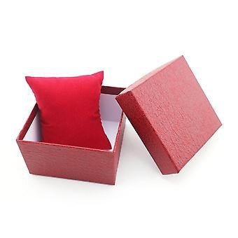 Tragbare High Grade Uhrenbox, langlebige GeschenkTasche für Armband Armreif Schmuck