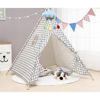 Infantil Baby Teepee Corturi - Castle Carpet Led Lumini Decorare