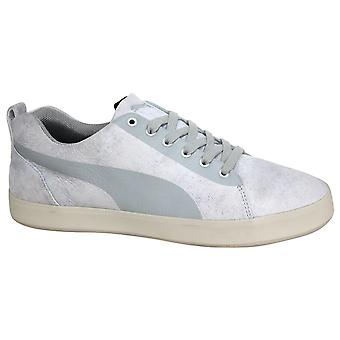 Puma Hussein Chalayan Urban Glide Lace Up Leather Trainers Mens 353108 02 X22A
