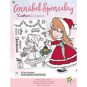 Crafter's Companion Annabel Spenceley Making Spirits Bright Stamps