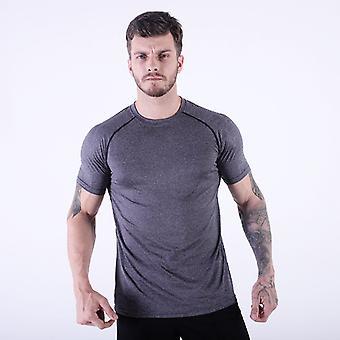 Män's Fitness Sports Topp H23