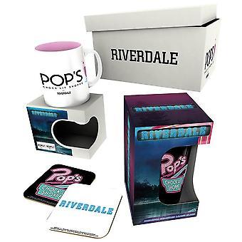 Riverdale Pops Chocklit Shoppe Drinkware Set