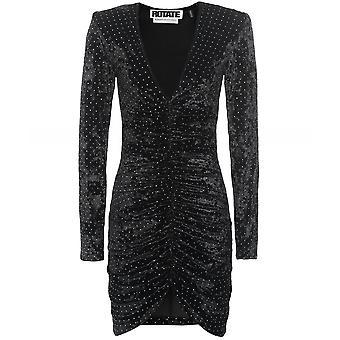 ROTATE Velvet Sierra Mini Dress