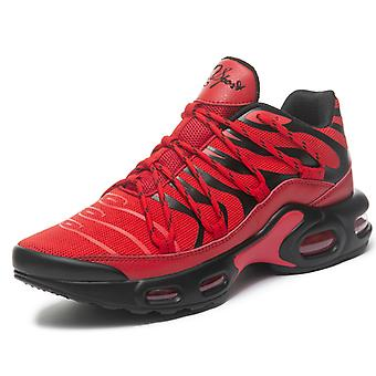 Moda masculina Aire Running Shoes 8910 Blackred