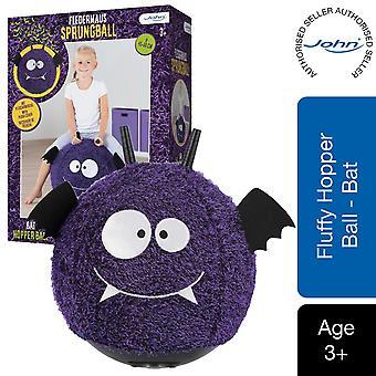 John Hopper monster bat ball 45cm with plush cover Purple/ Black