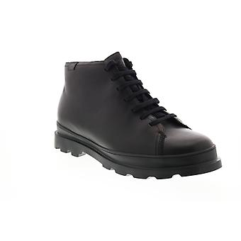 Camper Brutus Mens Black Leather Zipper Casual Dress Boots
