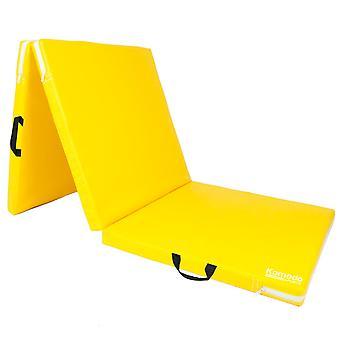 Komodo Tri Folding Yoga Mat - Yellow
