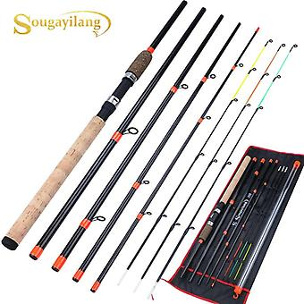 Feeder Lengthened Handle 6 Sections Fishing Rod