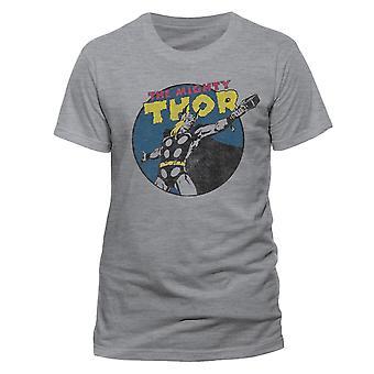 Thor Unisex Aikuinen Mahtava Thor Vintage T-paita