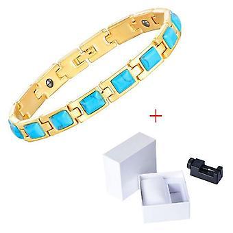 Vuoto braccialetto dimagrante, catena di placcatura, perdita di peso, assistenza sanitaria, unisex