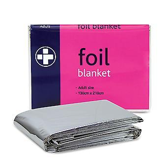 Koolpak Unisex Adult Foil Emergency Blanket (Pack of 6)