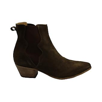 Steven by Steve Madden Womens Kelsee Suede Closed Toe Ankle Fashion Boots