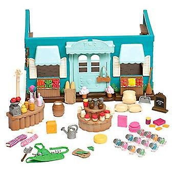 Li'l woodzeez oyun seti hanımeli içi boş genel mağaza 90 adet